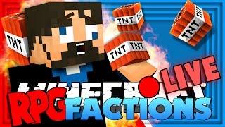 Minecraft: RPG Factions | TNT CANNON MACHINE GUN!! [10]