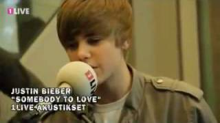 justin bieber somebody to love 1live acoustic set may 20 2010 cologne germany