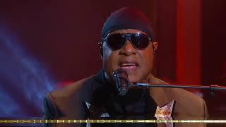 """Stevie Wonder """"Easy"""" Lionel Richie tribute"""