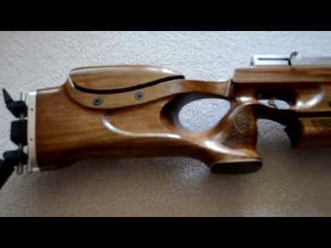 Custom stock for PCP air rifle