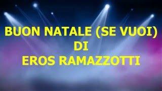 Cover Buon Natale ( Se vuoi) di E.Ramazzotti (2015)
