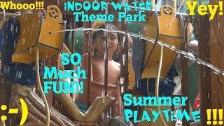 Family Indoor Water Park Trip at Great Wolf Lodge. Summer Water Playtime w/ Hulyan & Maya
