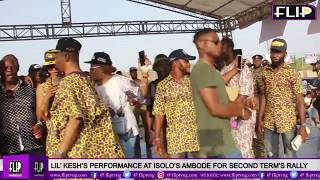LIL' KESH'S PERFORMANCE AT OSHODI'S AMBODE FOR SECOND TERM'S RALLY