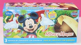 3 Huevos Kinder Sorpresa en español de Mickey Mouse | Egg surprise Mickey