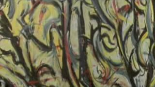 Jackson Pollock dancing colors - rivisiting Pollock movie with Ed Harris