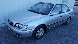 (SOLD)automatic cars toyota corolla 2000 cheap