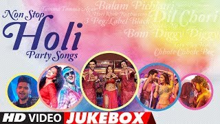 Holi 2018: The Best Bollywood Holi Party Songs | Latest Non-Stop Holi Special | Video Jukebox