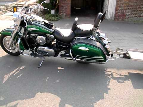 vulcan 1500 Nomad with trailer
