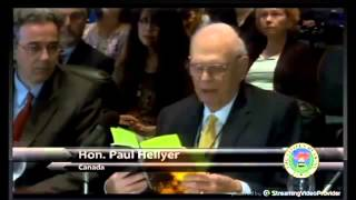 Canada's former Minister of Defense Paul Hellyer 2 Space Aliens are working with the US Government
