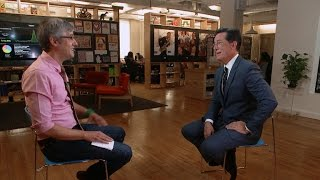 Stephen Colbert on getting to play himself