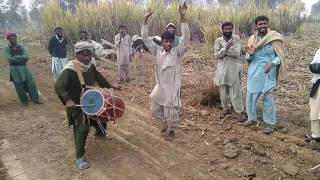 Boy beautiful dance on dhol nagan dance in fields attan and dance new amazing