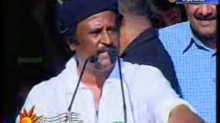Rajinikanth blasts against karnataka politicians.