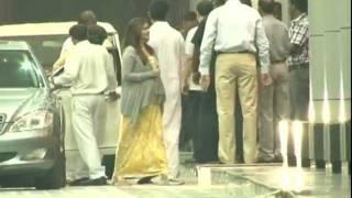 Hot pregnant Aishwarya entering hospital