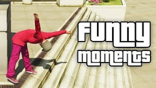 GTA 5: FUNNY MOMENTS #11 (GTA V Insulting Cops, Funny Bike Accidents and more)