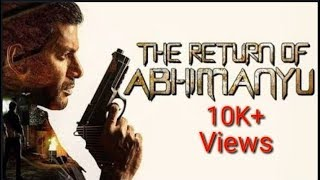 The Return of Abhimanyu Full movie Hindi (Link) in description(Best hacking movie)// south movie