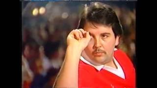 Darts World Championship 1990 Final Taylor vs Bristow