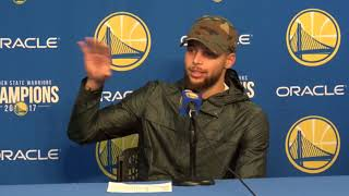 Stephen Curry Postgame Interview / GS Warriors vs Knicks / Jan 23