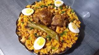 وصفات مريم شخشوخة بوسعادية بتعاون مع قناة sabrina Cuisine