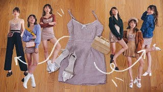 10 WAYS TO (re)WEAR A DRESS