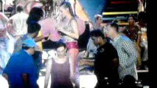 Katy Perry  with people in IPL 2012 starting programe in chennai (ymca).mp4.mp4
