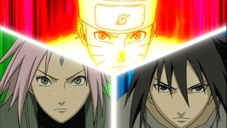 EPICNESS: Team 7 vs Ten Tails (with Anime OST)