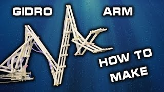 Cool Robot Arm Mechanism! How to Make a Motorized Robotic Arm