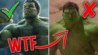10 Big Budget Films With HORRIBLE CGI!