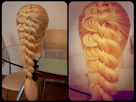 Плетение объемных кос видеоуроки