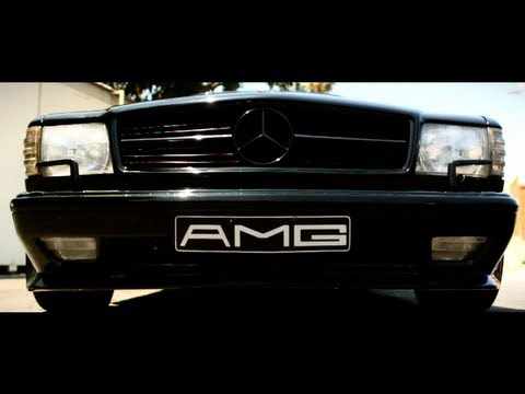 Mercedes 560 SEC AMG: Something Out of This World