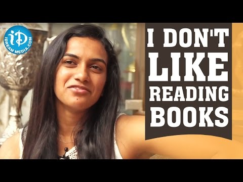 I Don't Like Reading Books - PV Sindhu || Rio Olympics 2016