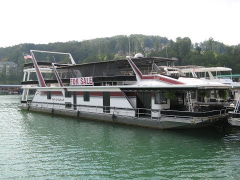 1997 Sumerset 20 x 93 Custom Built Houseboat For Sale on Norris Lake TN