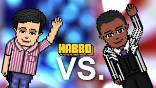 Barack Obama vs Mitt Romney. Epic Rap Battles Of History - VERSÃO HABBO (LEG)!