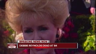 Debbie Reynolds, Carrie Fisher's mother, has died, reports say