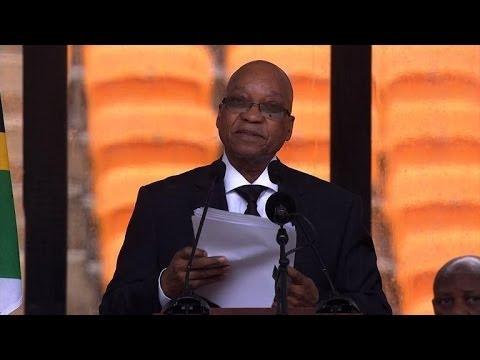 Zuma hails South Africa's 'greatest son' Mandela