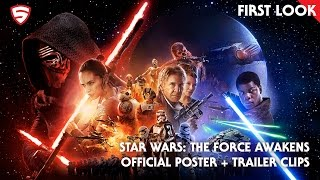Star Wars: The Force Awakens - Poster and Trailer Sneak Peek