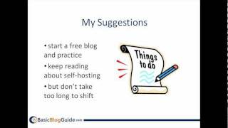 Free Blogs vs. Self-Hosted Blogs