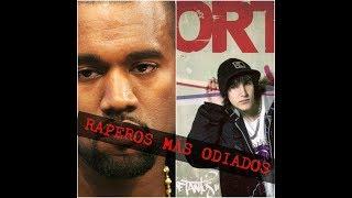 RAPEROS MAS ODIADOS RANKING HIP HOP WIZ