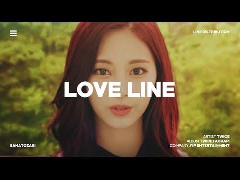 TWICE (트와이스) - Love Line | Line Distribution