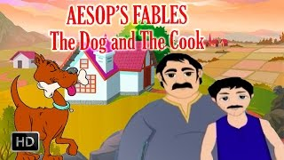 Aesop's Fables - The Dog and the Cook - Short Stories for Kids