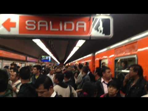Fallas en Línea 7 Metro Polanco 2 septiembre 2014
