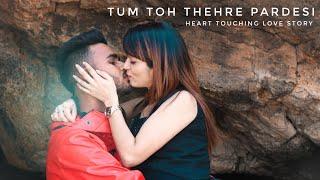 TUM TOH THEHRE PARDESHI | Koi Deewana Kehta Hai | RAJEEV RAJA | Heart Touching Video ~