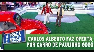 A Praça É Nossa (02/07/15) - Paulinho Gogó quer vender seu carrão
