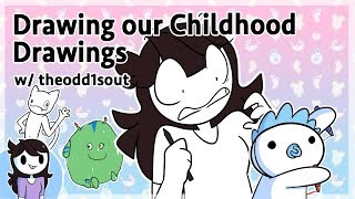 Drawing our Childhood Drawings w/ theodd1sout
