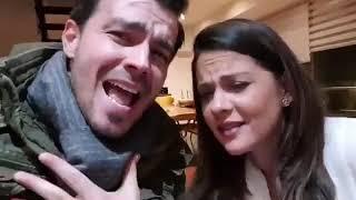Luciano D' Alessandro y Nela González