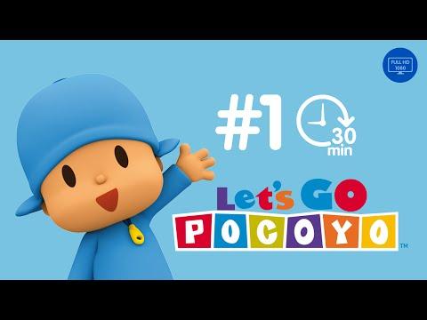 Let s Go Pocoyo 30 MINUTES Episode 1 in HD