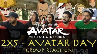 Avatar: The Last Airbender - 2x5 Avatar Day - Group Reaction