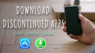 How to Download Discontinued/Old/Deleted Apps [2017]