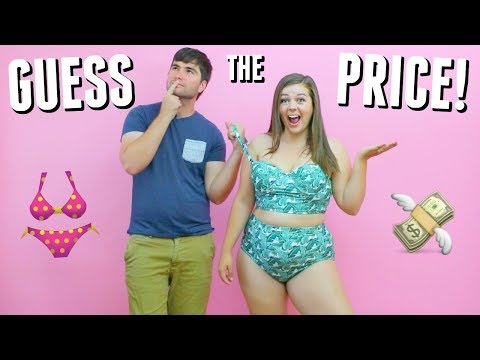Husband Guesses Bikini Prices Cheap Vs Expensive Swimsuits