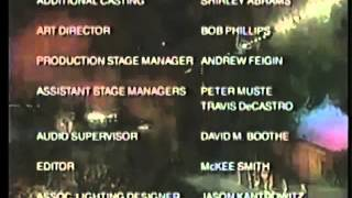 Barney Live in New York City Credits