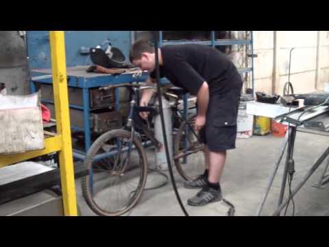 Bicicleta a Aire Comprimido La Bicicleta